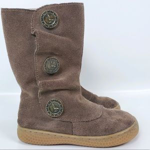 Livie and Luca Suede leather boots size 10